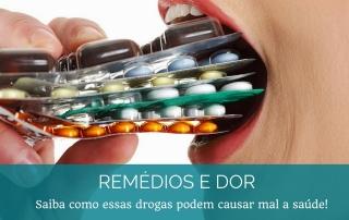 Remédios para dor e tratamento da ATM / DTM