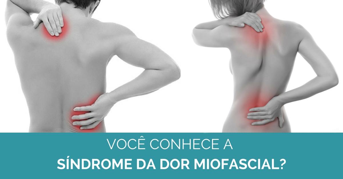Síndrome da dor miofascial e DTM/ATM