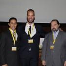 Prof. Marcelo Matos, Dr. David Ângelo e Prof. Dr. Learreta