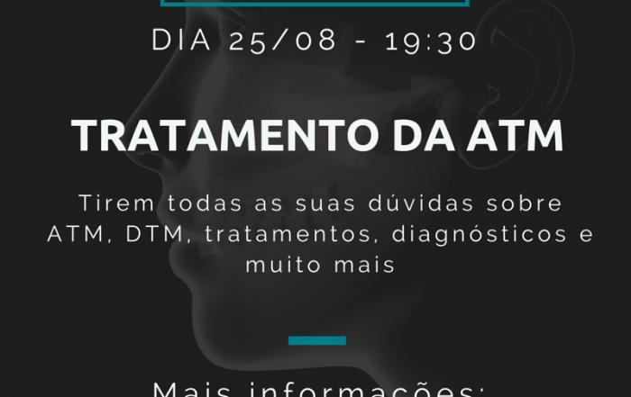 Evento sobre diagnóstico e tratamento da ATM / DTM