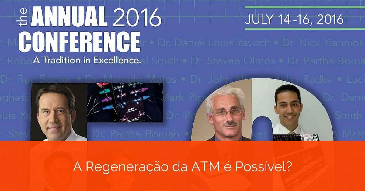 Palestra sobre regeneração de côndilo da ATM. É Possível?
