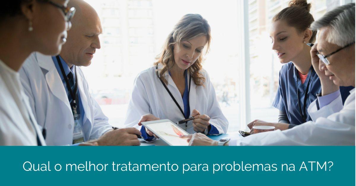 Qual o melhor tratamento para DTM e problemas na ATM?
